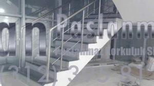 Yatay Emniyetli Paslanmaz Merdiven Korkuluğu (10)