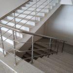 Yatay Emniyetli Paslanmaz Merdiven Korkuluğu (16)