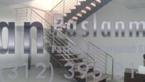 Yatay Emniyetli Paslanmaz Merdiven Korkuluğu (3)