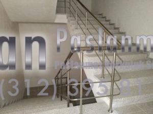 Yatay Emniyetli Paslanmaz Merdiven Korkuluğu (4)