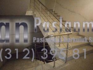 Yatay Emniyetli Paslanmaz Merdiven Korkuluğu (5)