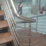 Yatay Emniyetli Paslanmaz Merdiven Korkuluğu (6)