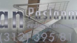 Yatay Emniyetli Paslanmaz Merdiven Korkuluğu (7)