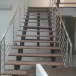 Yatay Emniyetli Paslanmaz Merdiven Korkuluğu (8)